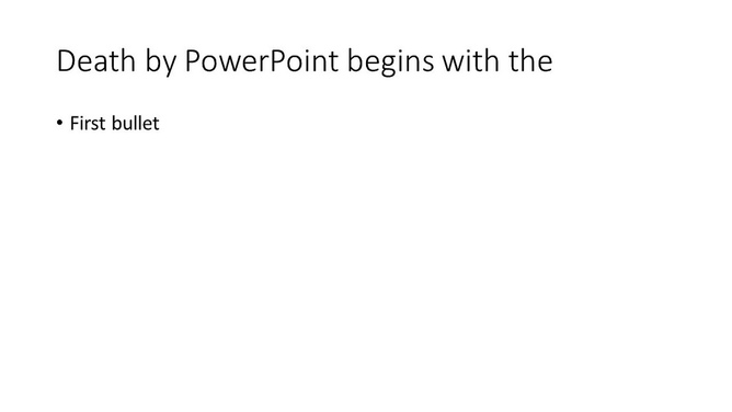 Ban PowerPoint
