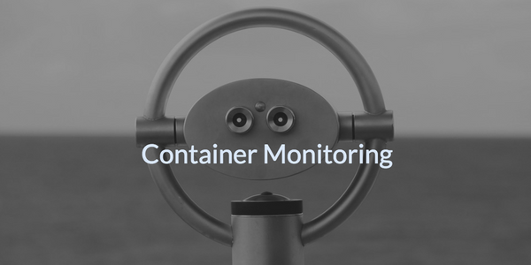 Introduction to Container Monitoring